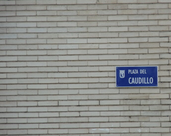 Plaza del Caudillo located in El Pardo (Madrid). (Wikimedia Commons)