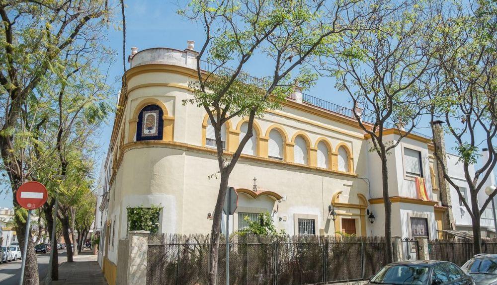 Una vivienda situada en la Barriada España de Jerez de la Frontera (Manu García para La Voz del Sur)