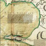 Mapa de la Bahía de Gibraltar, 1756 (ICGC).