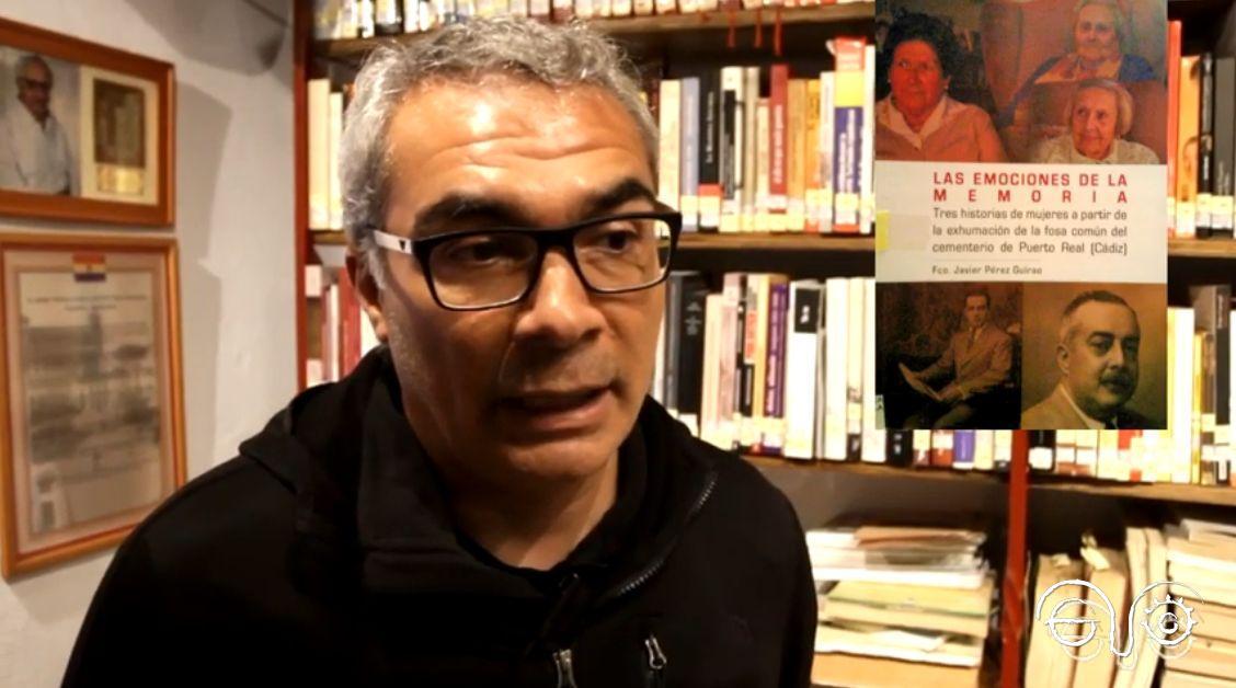 El antropólogo Francisco Javier Pérez Guirao, presidente de AMEDE.