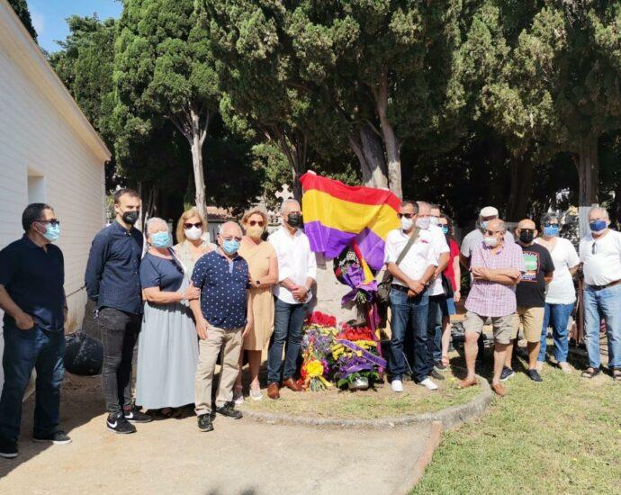 Participantes en el acto de Algeciras.