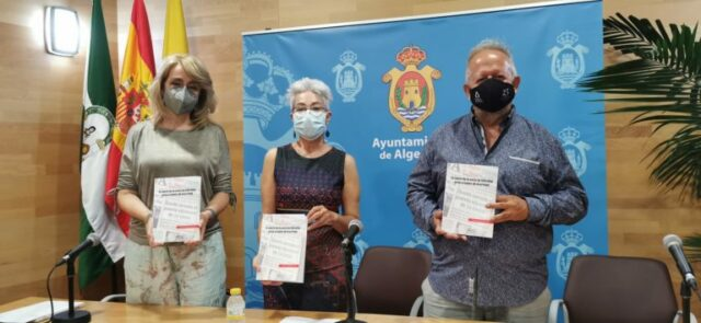 Pilar Pintor, Malgara García Díaz y Juan José Téllez.