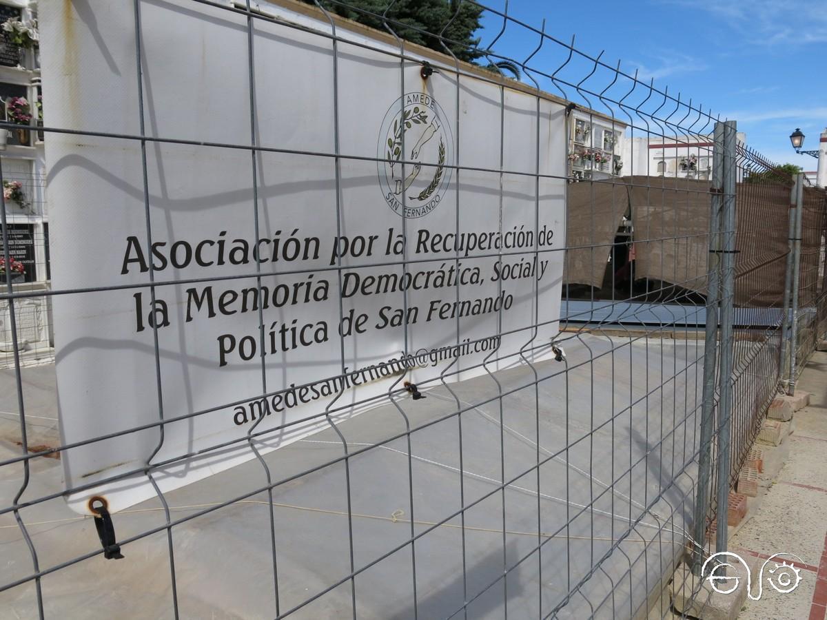 Esta iniciativa ha partido de la Asociación por la Recuperación de la Memoria Democrática, Social y Política de San Fernando (ADEME).