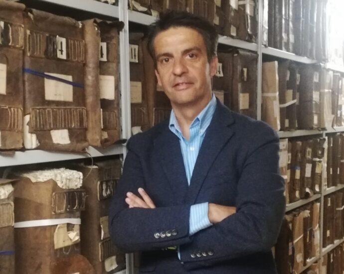 Santiago Saborido, director del Archivo Histórico Provincial de Cádiz.
