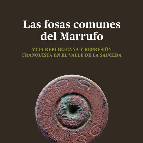 Portada del libro Fosas comunes del Marrufo.