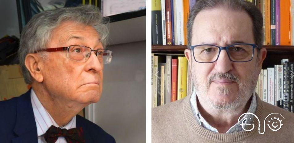 Ángel Viñas y Francisco Espinosa.
