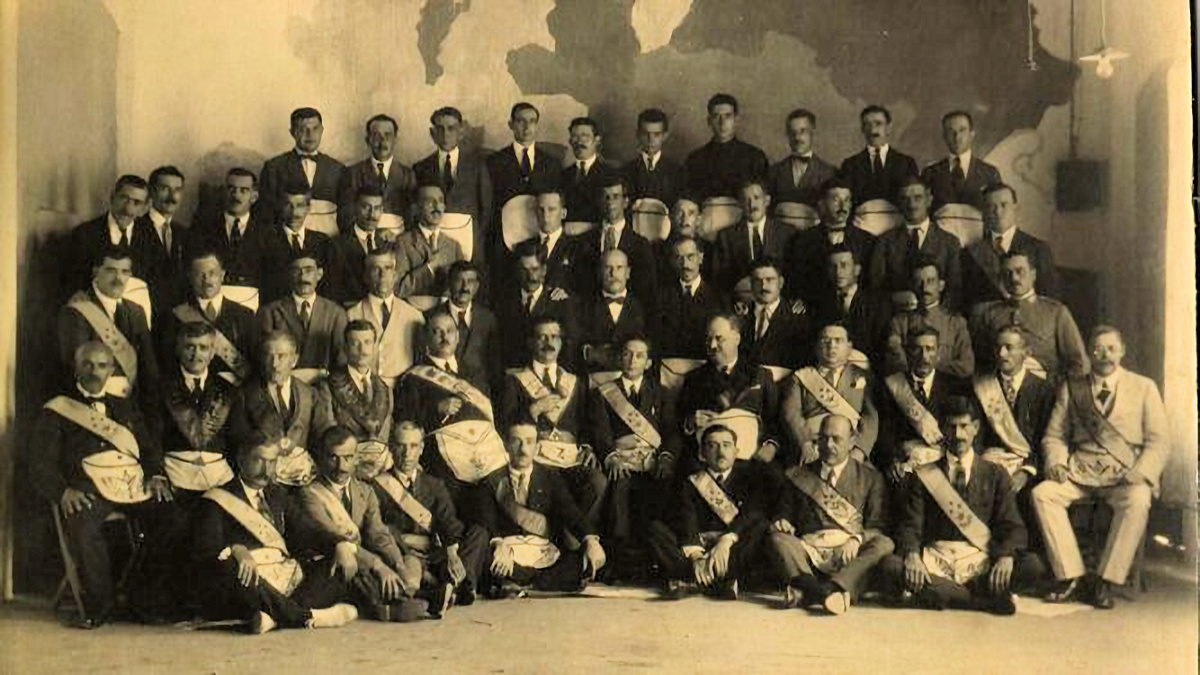 Asamblea Regional Andaluza de la Gran Logia Española, celebrada en La Línea el 25 de junio de 1924.