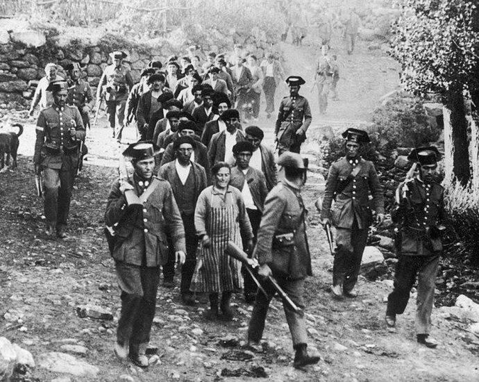 Revolución en Asturias, 1934.