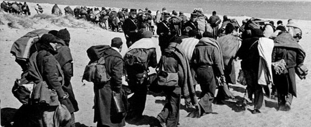Casi medio millón de exiliados como consecuencia de la guerra.