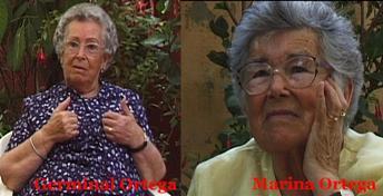 Germinal y Marina Ortega Bru.
