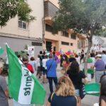 Concentración en recuerdo de Blas Infante en Algeciras.
