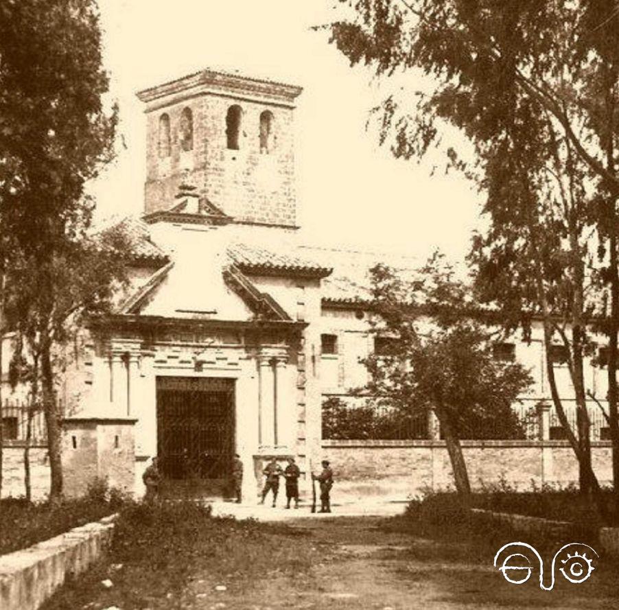 Antigua imagen del Penal de El Puerto de Santa María.
